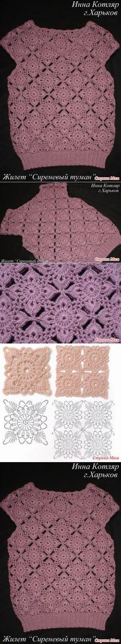 crochet pullover poncho by lucinda Crochet Chart, Crochet Motif, Crochet Designs, Crochet Stitches, Crochet Patterns, Crochet Woman, Love Crochet, Crochet Baby, Knit Crochet