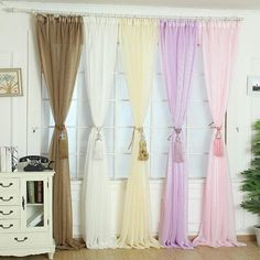 Only a few more left in stock! Super Deal Elegant Tulle Door Window Curtain Drape Panel Sheer Scarf Valances XT Shop now:  http://www.thisgreatdeal.com/products/super-deal-elegant-tulle-door-window-curtain-drape-panel-sheer-scarf-valances-xt?utm_campaign=crowdfire&utm_content=crowdfire&utm_medium=social&utm_source=pinterest