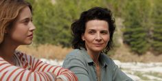 Juliette Binoche and Lou de Laâge in The Wait - Italian/French film Seattle International Film Festival, Sils Maria, Juliette Binoche, French Films, Arts And Entertainment, Looking Forward To Seeing, Grief, Waiting, Interview