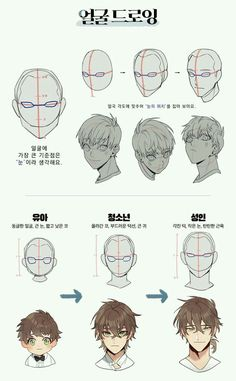 Drawing Heads, Body Drawing, Drawing Base, Anatomy Drawing, Manga Drawing, Drawing Men Face, Face Drawings, Figure Drawing, Pencil Drawings