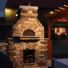 Outdoor Pizza Ovens : BBQGuys Outdoor Pizza Oven Kits, Outdoor Oven, Outdoor Dining, Outdoor Stone, Outdoor Lounge, Outdoor Rooms, Home Depot, Brick Oven Pizza, Pizza Oven Fireplace