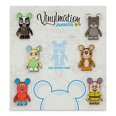 Vinylmation Animation Series 2 Pin Set | Pin Sets | Disney Store