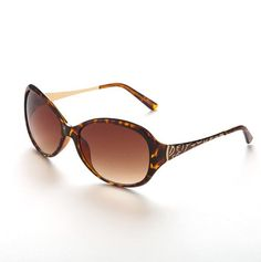 Large Oval with Betsey Signature - Betsey Johnson Sunglasses, so fun!