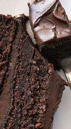 Wellesley Fudge Cake - once you get a taste of the thick fudgy frosting, keeping it a secret just might cross your mind!