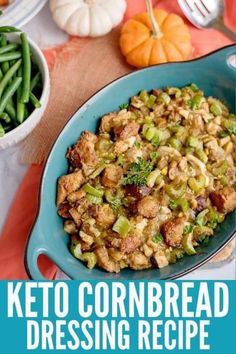 A Low Carb Thanksgiving is possible!Get all the tastes of the holidays without going off plan with this Southern Style Keto Cornbread Dressing! Low Carb Keto, Low Carb Recipes, Diabetic Recipes, Atkins Recipes, Apple Recipes, Pumpkin Recipes, Veggie Recipes, Fall Recipes, Appetizer Recipes