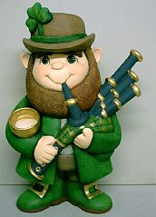 ceramic bisque St Patrick's