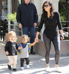 Kim, North & Penelope
