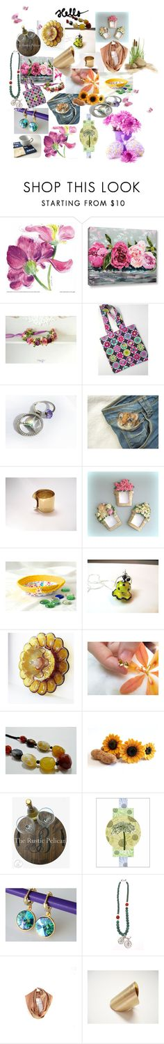"""""""Hello Beautiful !!"""" by anna-recycle ❤ liked on Polyvore featuring modern, rustic and vintage"""