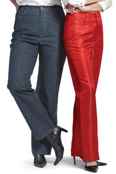 Everyone Can Have Jeans That Fit - Jeans patterns can be altered in a few simple steps.