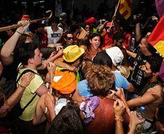Madrid, disoccupati in piazza
