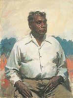 Detail: William Dargie Albert Namatjira 1956 oil on canvas Queensland Art Gallery