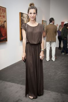 Art and music style at the Perry Rubenstein Gallery in Los Angeles.  (Photo by Erika Shisler)