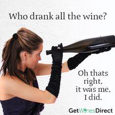 Who drunk all the wine ???? MEEEEE #whodrunkallthewine #winelover #wine #winetime #Friday13 #fridaywine #getwinesdirect