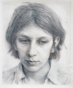 Robert Bauer (graphite over gesso on paper)