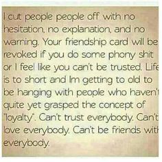 This is so true & how i feel exactlly, i had to end a few very close friends, do to be judged or not living up to their standards, what about living up to mine & not judge me or break my trust & use my insecurities against me? Guess the friendships were not close after all.....then to add to the hurt you want to take the child's way & email me you disppoinment???? I don't play that way sistra!