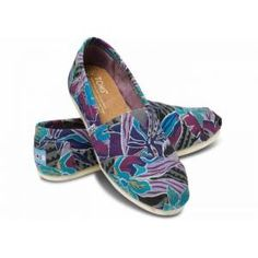 TOMS Ayakkabı - Tropical Canvas Women's Classic
