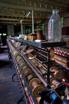 fascinating - Abandonded Silk Mill, Maryland