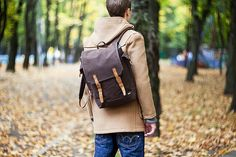 Sandqvist Bob backpack; because carrying your documents doesn't have to be plain.