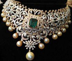 Changeable Design Grand Diamond Set - Jewellery Designs