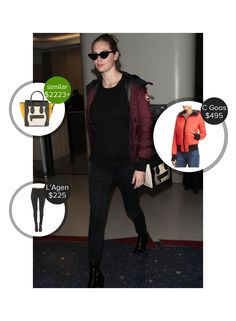 Kate Upton Lax Airport - seen in Le Specs, Canada Goose, L'Agence and carrying Celine. #lespecs #canadagoose #celine #lagence  #kateupton @mode.ai