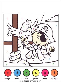 Coloriage Magique Pirate - Through the thousands of pictures on the net about Coloriage Magique Pirate, we selects the Pirate Preschool, Pirate Activities, Pirate Kids, Pirate Crafts, Pirate Day, Pirate Birthday, Color Activities, Pirate Theme, Activities For Kids