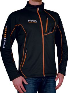 FXR Racing - Snowmobile Sled Gear - Men's Elevation Full Zip Fleece