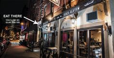 Food Without Fear: My Night at Senza Gluten in NYC