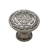Knobware C5178/1-1-8IN/MN Engraved Collection Medieval Knob