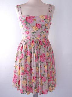 floral dress..... WANT