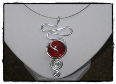 bijoux collier pendentif fils aluminium pendentif alu pendentif ...                                                                                                                                                                                 Plus