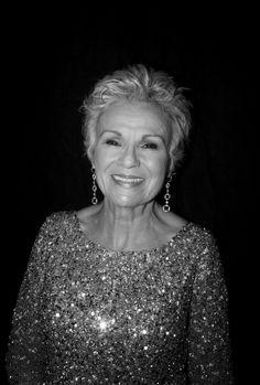 Julie Walters sparkles backstage | BAFTAs 2015