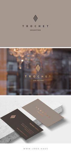 The Trochet Logo Design Kit available from Logo.Haus.