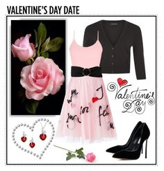 """~Valentine's Day Date~"" by justwanderingon ❤ liked on Polyvore featuring Lab, BKE core, Casadei, P.A.R.O.S.H., MANGO, women's clothing, women, female, woman and misses"