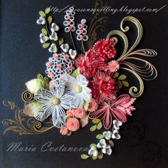 Beautiful quilling techniques❣ Quilling Seasons