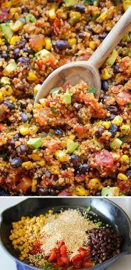 Rychlá zdravá quinoa - jednoduchý recept z jedné pánve