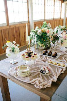 Garden inspired bridal shower
