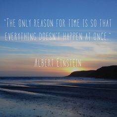 Inspiration for those hectic days. Words by Albert and photo by me :)