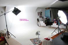 Fundo Infinito Para Estúdio Fotográfico: