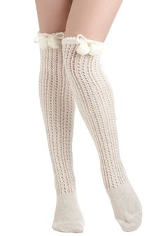 Cozy chic socks pair perfectly for a hot chocolate date with friends!
