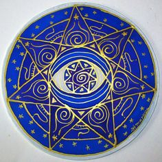 mandala art, Third Eye chakra, chakra art, reiki art, yoga art, spiritual art, metaphysical, wiccan, pagan,energy art, goddess  Ask a Question