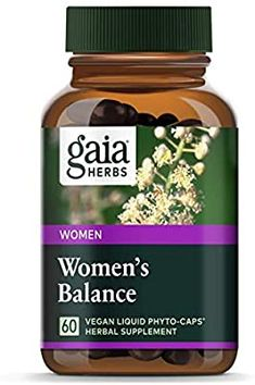 Sponsored - Gaia Herbs Women's Balance Vegan Liquid Capsules 60 Ct Hormone For Women Mood Hormone Imbalance Symptoms, Healthy Liver, Healthy Tips, Female Hormones, Hormone Balancing, Gaia, Herbalism, Herbs, Vegan