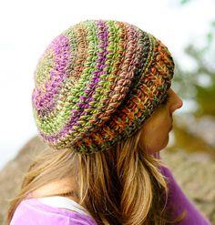 Ravelry: Ribbed Brim Slouchy Hat pattern by Erin Hansen