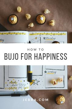 Discover how a bullet journal can make you happier by making use of lists, trackers, and other planner and bujo page spreads.