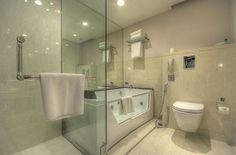 Bathroom Mirror Kolkata novotel kolkata hotel and residences - kolkata the bathroom is