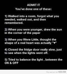 I've done them all!! Haha and I still do the first one all the time lol!!!
