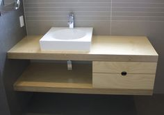 Hoop Pine Plywood vanity | Quality Plywood Furniture made in New Zealand | Make Furniture