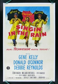 Singing in the Rain Gene Kelly Debbie Reynolds