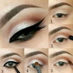 Makeup: Eye Liner 5 steps
