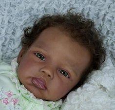 AMAZING REBORN BABY GIRL KYLIE BY ROMIE STRYDOM NOW BRIANNA