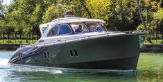 Luxury yacht exterior design of the Zeelander Small Yachts, Boat Interior, Boat Stuff, Speed Boats, Luxury Yachts, Boat Building, Fishing Boats, Exterior Design, Sailing